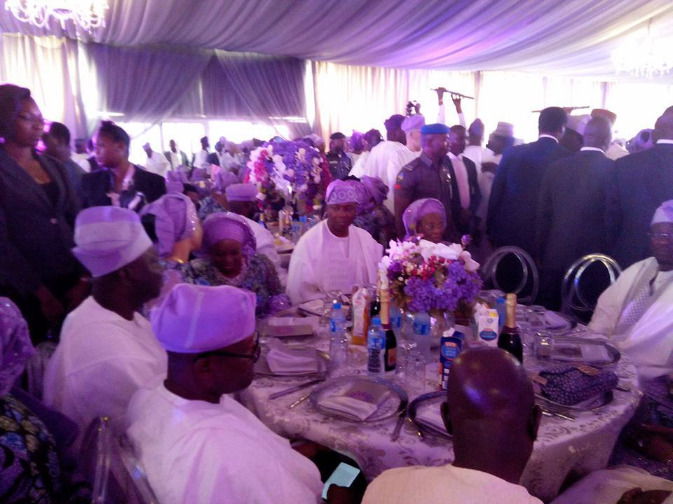 Photos from the wedding of Bukola Saraki