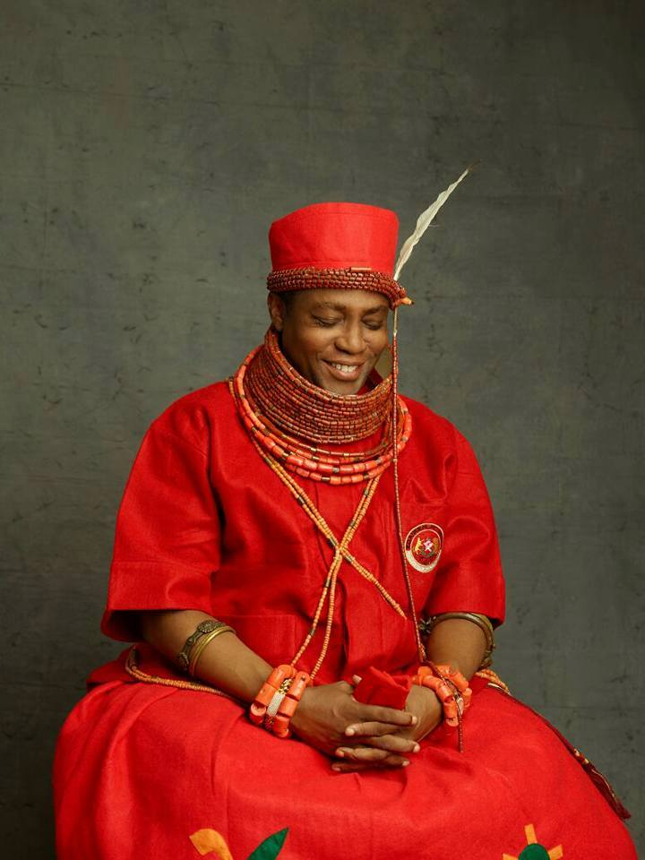 Beautiful new photos of the Oba of Benin and his family