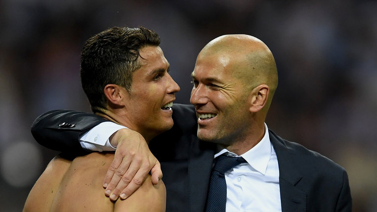 'Cristiano Ronaldo is the best player of his generation'- Zidane