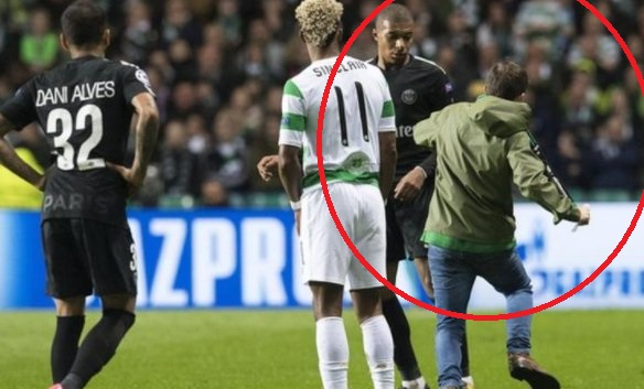 UEFA fines Celtic ?10k after a supporter ran to the pitch and attempted to attack Paris St-Germain striker Kylian Mbappe.