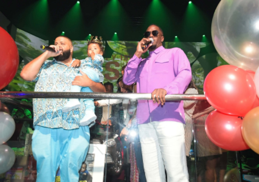 Photos: DJ Khaled rents out the famous LIV Nightclub? in Miami to celebrate his son, Asahd?s first birthday