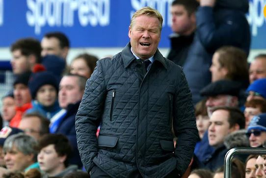 Everton sack coach Ronald Koeman after humiliating 5-2 defeat by Arsenal on Sunday