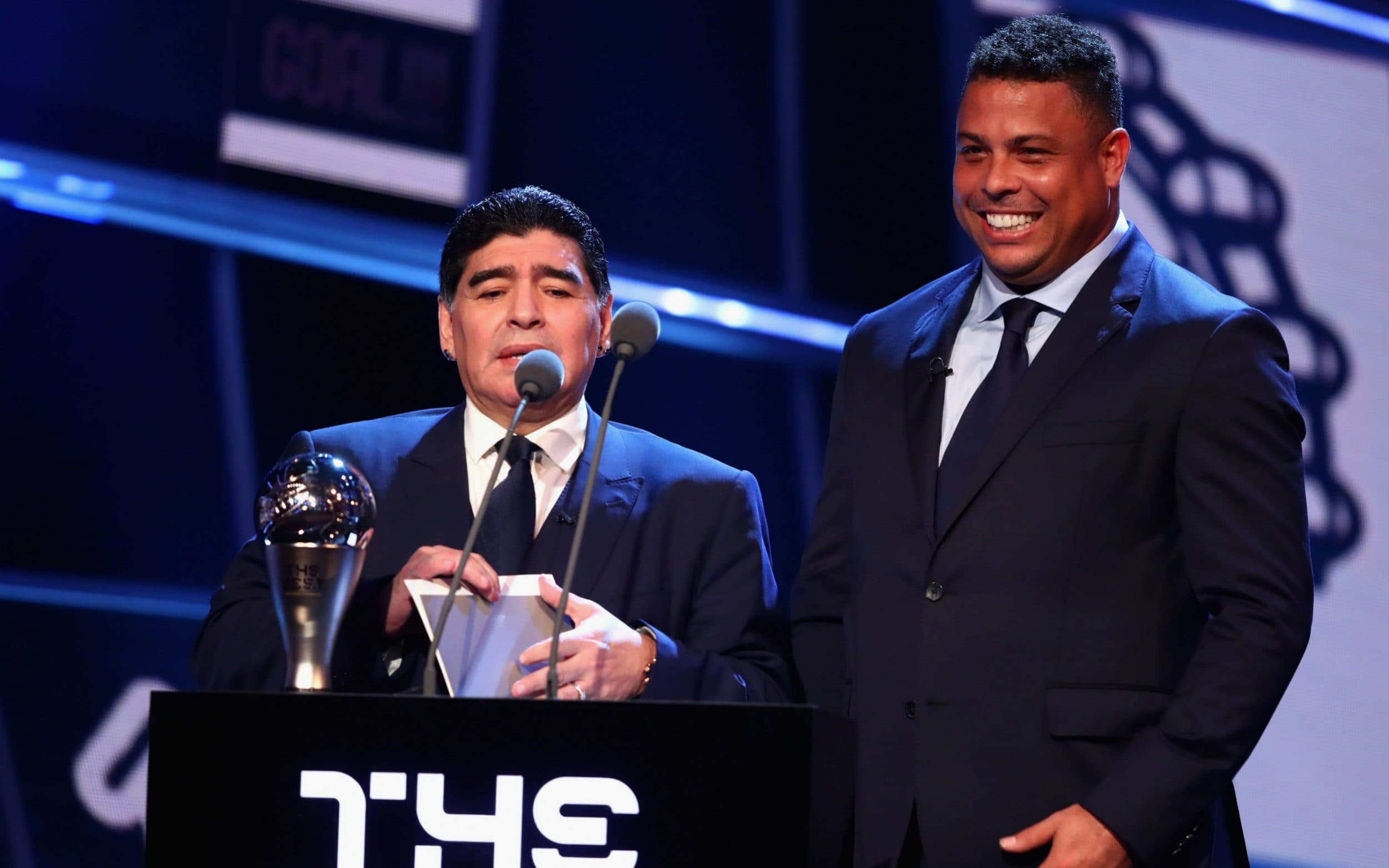 Idris Elba, Pele, Maradona ... More photos from the star studded FIFA Best Awards