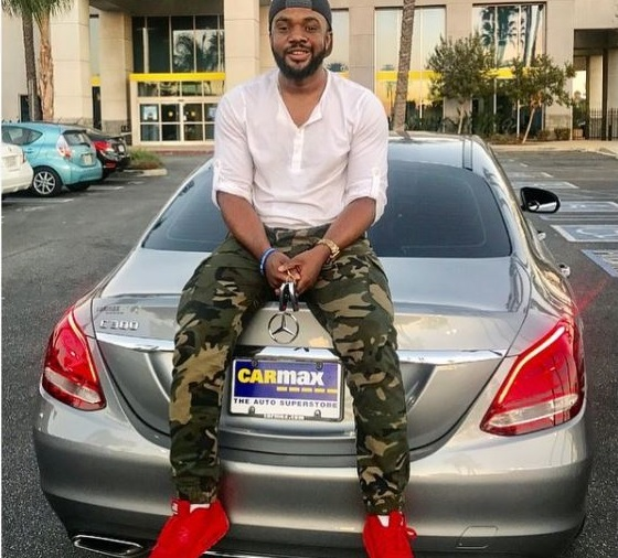 Nollywood actor Williams Uchemba splashes N16m on brand new Mercedes Benz car to celebrate his birthday (Photos)