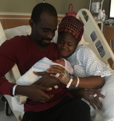 Popular Yoruba actor, Tunde Owokoniran and wife welcome a baby girl