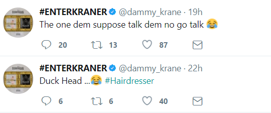 Dammy Krane drags Tekno into his beef with Orezi