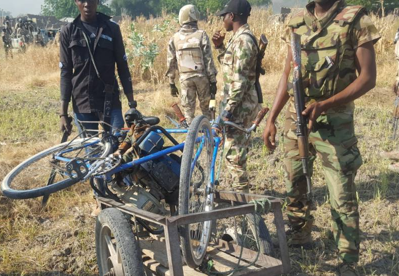 Nigerian Army?neutralize 11 Boko Haram terrorists, recover?1 Gun Truck and?4 already prepared Suicide Vests