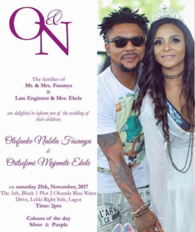 Check out the invite for Oritsefemi