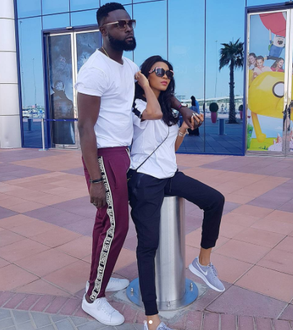 More photos from Yomi Casual and wife