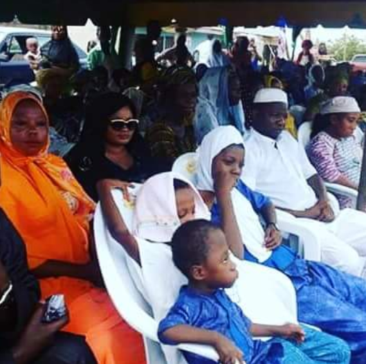 Photos: Unhappy faces at the naming ceremony of Nollywood actress,?Funke Abisogun who died 3-days after childbirth