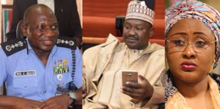 Senator Misau accuses IG of Police, Ibrahim Idris, of buying 2 SUVs for President Buhari?s wife, Aisha