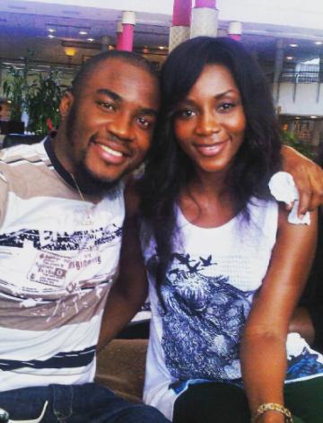 Check out this major throwback photo of Genevieve Nnaji & Bobby Obodo