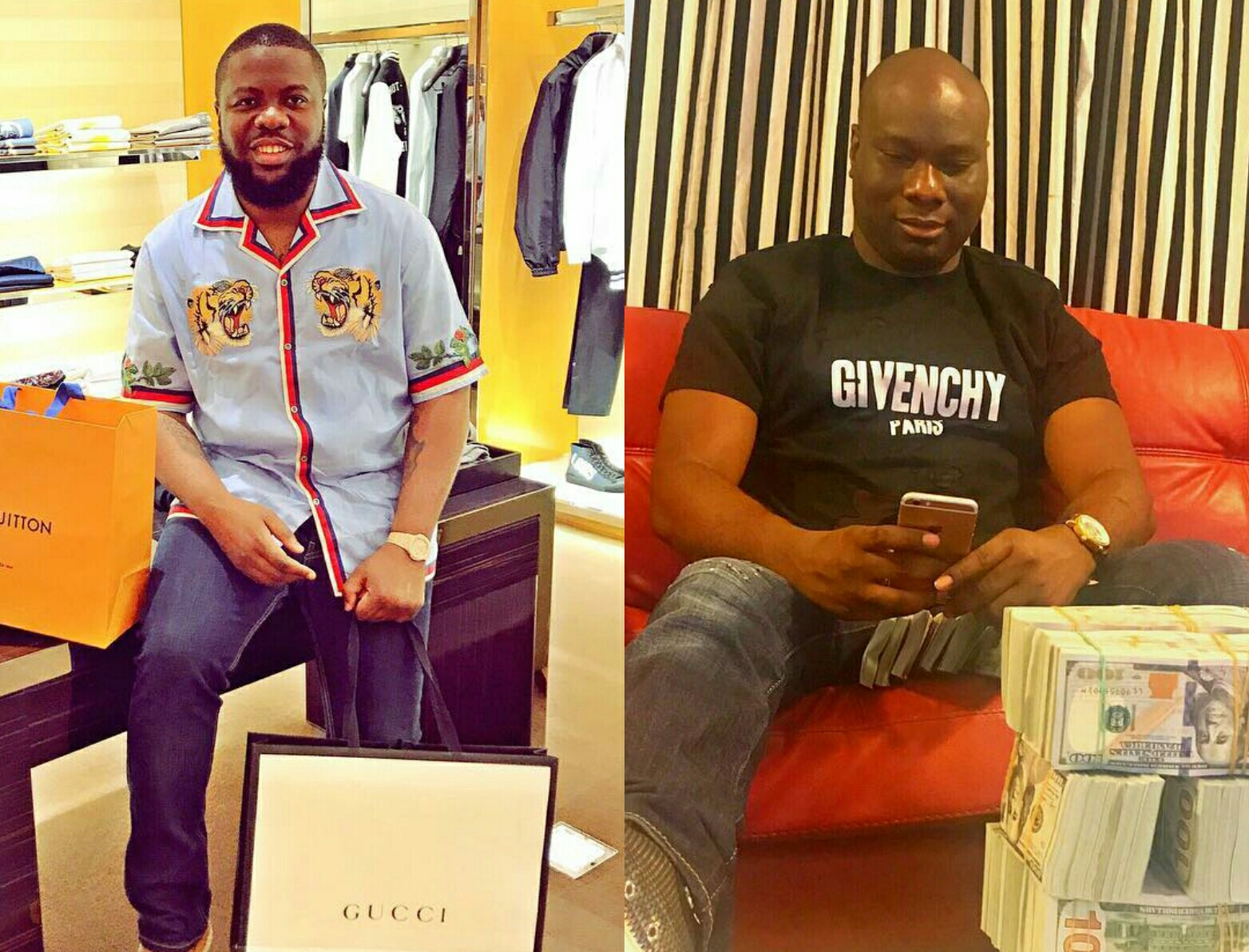 The drama continues! Hushpuppi fires back at Mompha, alleges that he squandered 70m naira given to him