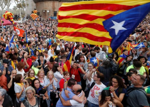 Breaking:?Catalonia declares independence from Spain