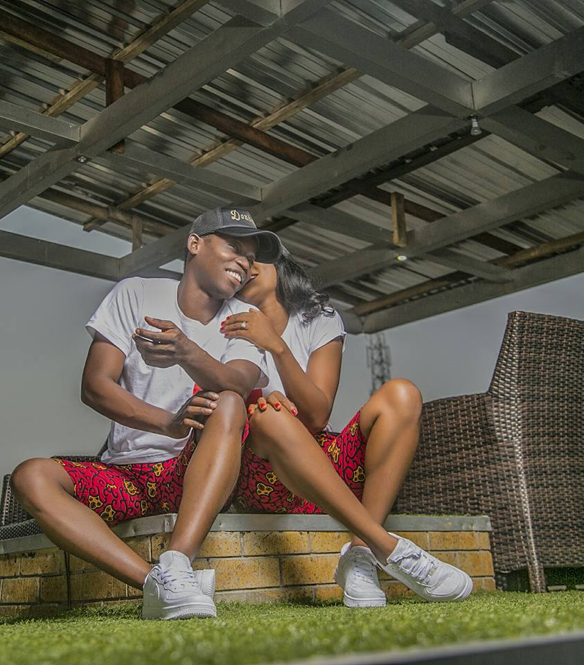 Beautiful pre-wedding photos of young Nigerian couple