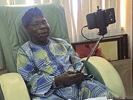 I am?not computer literate - Olusegun Obasanjo