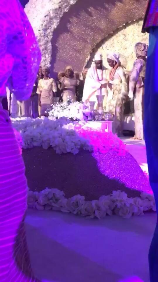 Photos from the wedding of Oluwatosin, daughter of Nigeria