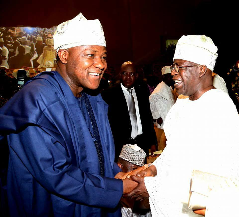 More stunning photos from the wedding of Senate President, Bukola Saraki