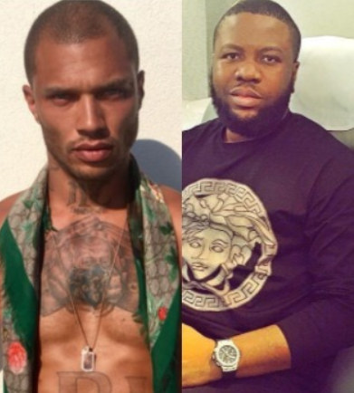Seems Hushpuppi and hot felon, Jeremy Meeks are good friends (Photo)