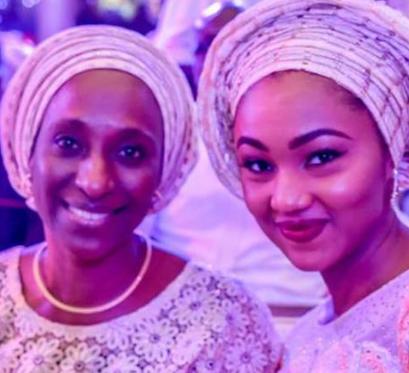 Cute photo of Dolapo Osinbajo and Zahra Buhari-Indimi