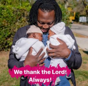 Ace Photographer, Jide Odukoya, shares adorable photo with his twin boys