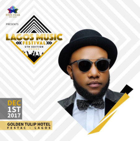 Five Star Music announces 5th edition of the Lagos Music Festival to hold on December 1st