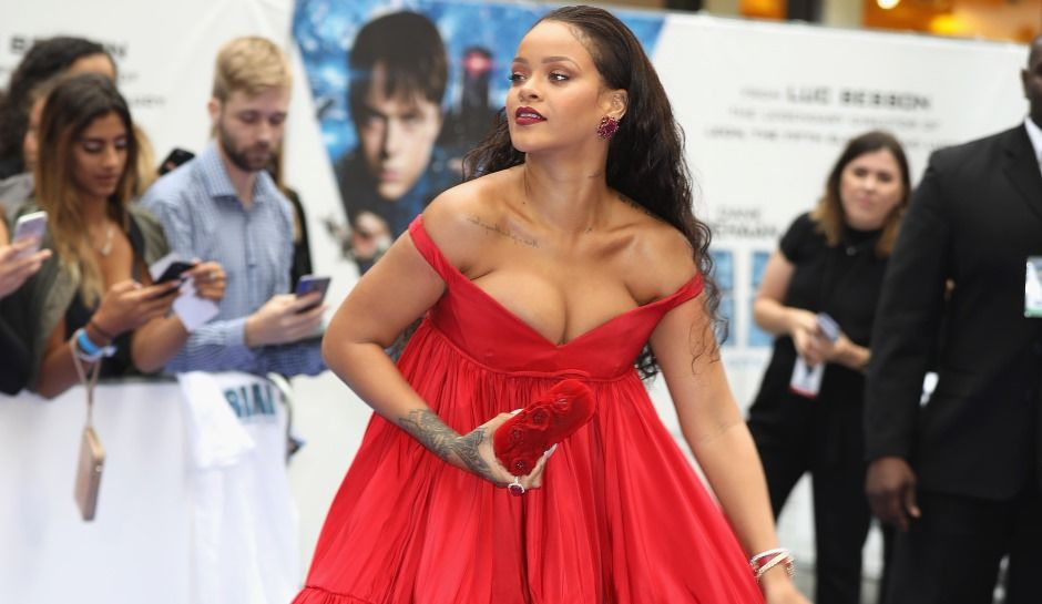 Wow! Rihanna