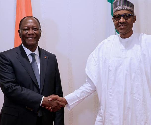 Photos: President Buhari receives Cote D