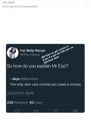 Mr Eazi finally replies people who wonder why his skin colour isn