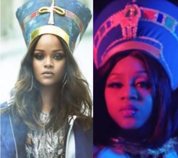 Who rocked it better? Rihanna VS Yemisi Fancy...