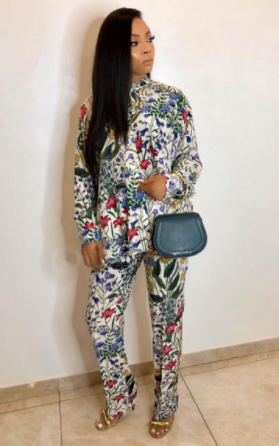 Tokr Makinwa steps out rocking an all Gucci ensemble for Lagos event (photos)