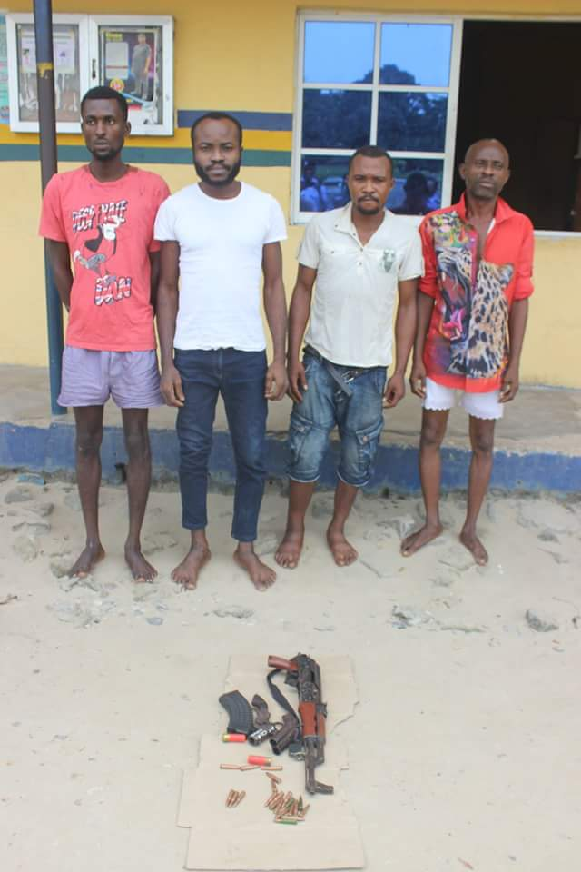 Photos: Rivers Police parade members of the notorious Icelanders and Deywell cult groups; suspected kidnappers, armed robbers