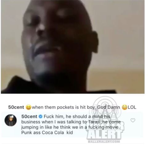 Lol! 50 Cent slams Tyrese Gibson, calls him a
