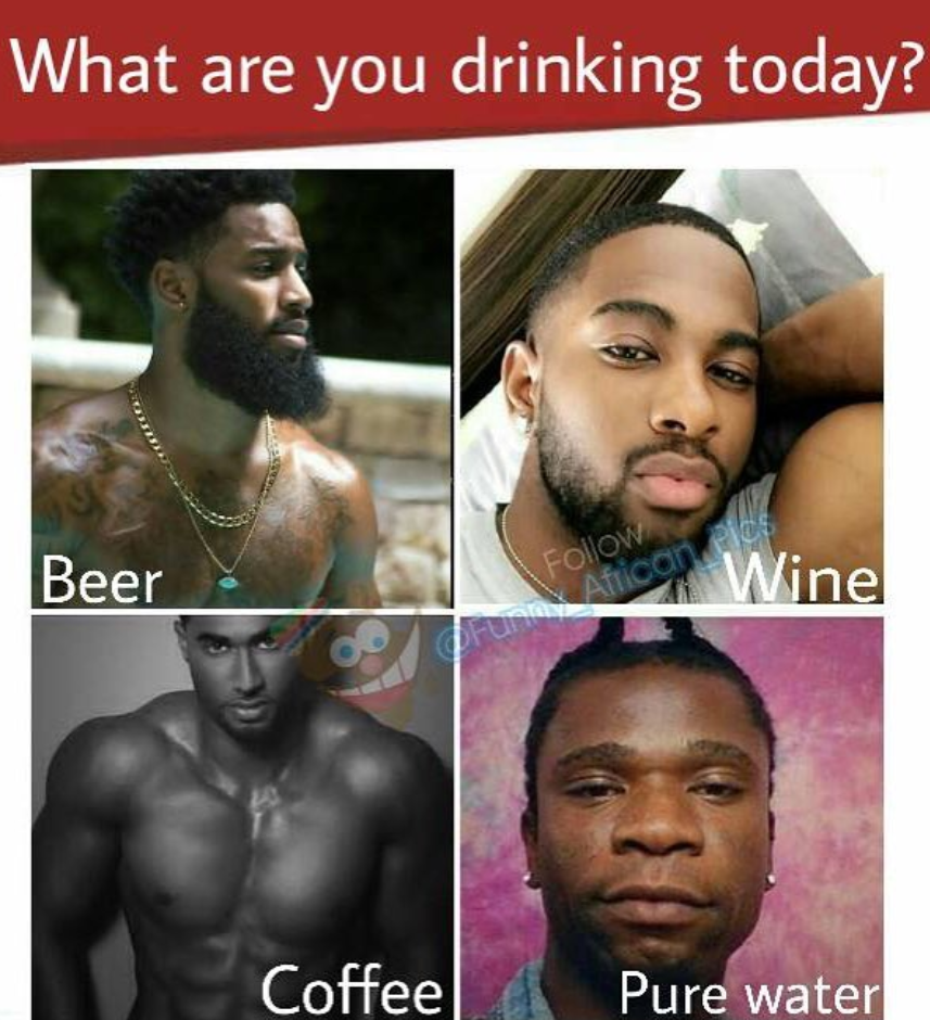 Ladies, what are yoi drinking today? Please don