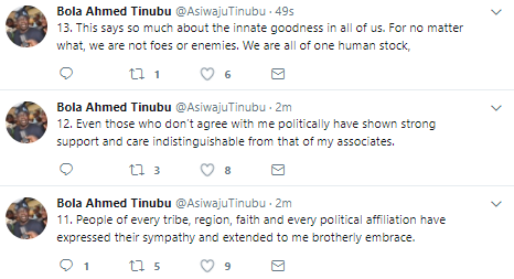 """I wish I could bring my son back but I cannot."" - Tinubu breaks silence over the demise of his first son"