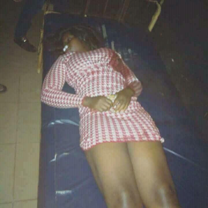 Photos:? Students of Auchi Polytechnic protest the killing of fresh graduate by vigilante group