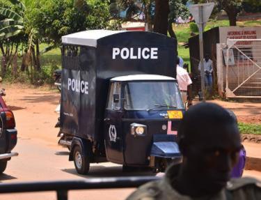 Ugandan police use Keke NAPEP as official cars? See photo