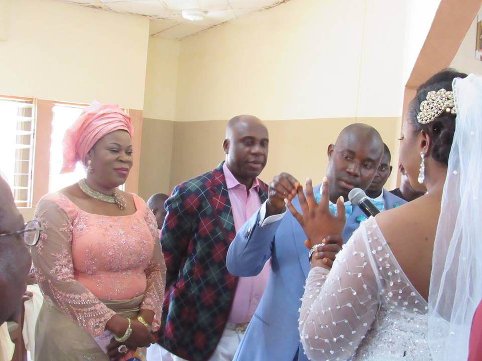 Photos: Vice President Yemi Osinbajo attends wedding of the DSS official attached to him