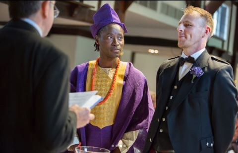 Image result for pictures of Bisi Alimi wedding