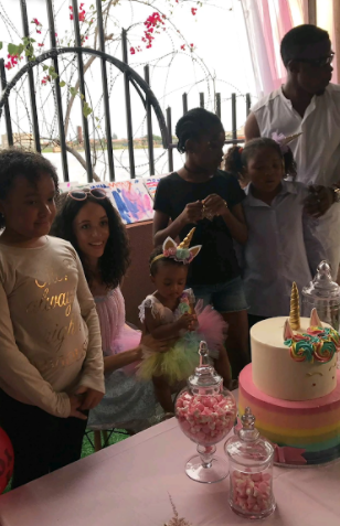 First photos of the adorable daughter of TV personality Eku Edewor and Chini Odogwu as she celebrates her 1st birthday