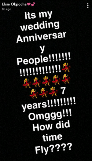 Basketmouth & wife, Elsie celebrate their 7th wedding anniversary...see what he gifted her (photos)