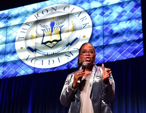 Oprah Winfrey donates $5 million to the Ron Clark Academy in Atlanta (Video)