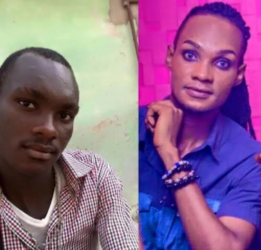 See before & after bleaching photos of the Ghanaian gay man fighting with Bobrisky over who