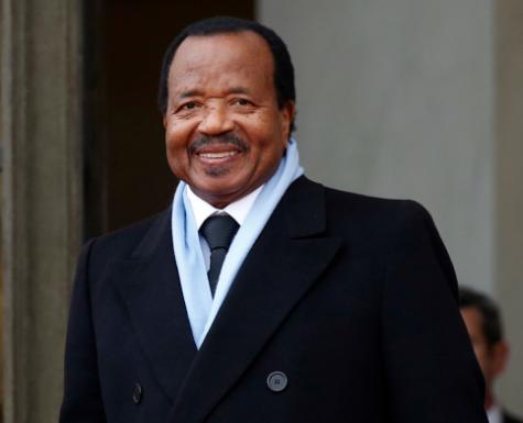 President Paul Biya of?Cameroon marks 35 years in power