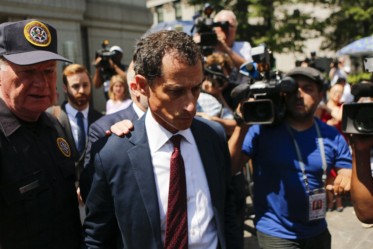 Disgraced politician Anthony Weiner checks into prison for 21-month sentence for sexting a 15-year-old girl