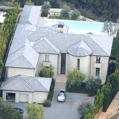 Kim K & Kanye West sell the Bel-Air mansion they bought for $9m to a philanthropist for $17.8 million