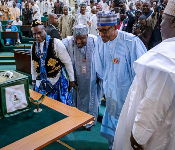 #Budget2018: Full speech delivered by President Buhari to the Joint Session of the National Assembly