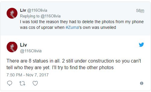 Oh dear! See the statue of President Ellen Johnson Sirleaf Gov. Okorocha wants to unveil on Thursday (Photo)