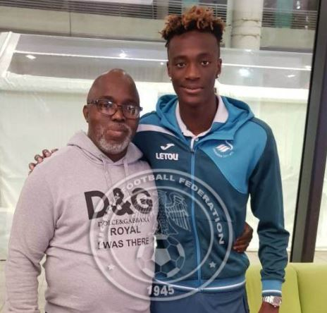 Betrayal! Tammy Abraham pledges future to England, snubs Nigeria despite meeting with NFF President
