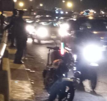 Traffic robbery: RRS officers now man Apongbon Bridge inward Eko Bridge, Lagos (photos)